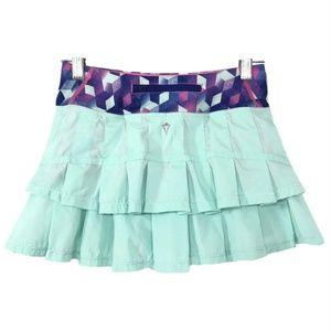 Ivivva Set The Pace Skirt Skort Girl's Size 10